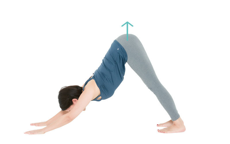 スペシャルエクササイズ【STEP 1】膝伸ばし2