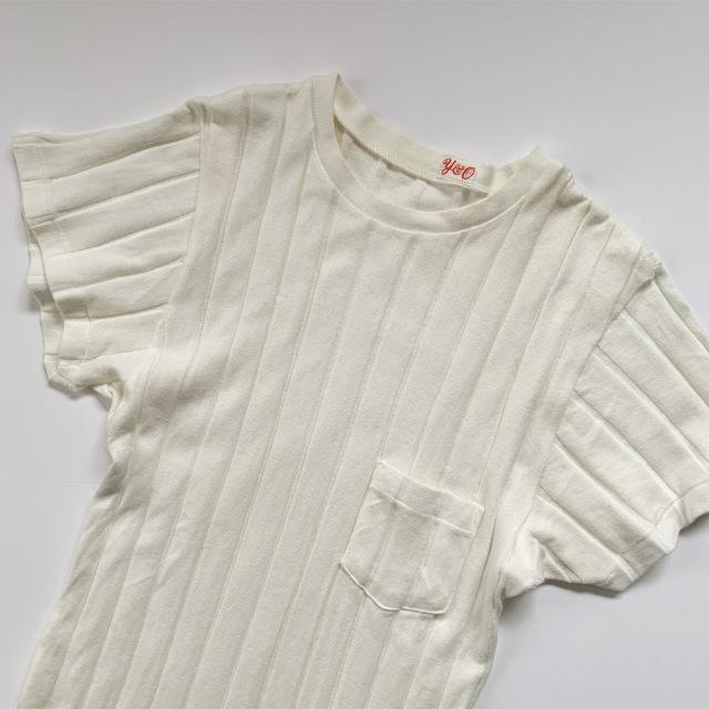 私の定番白Tシャツはこれ!YOUNG & OLSENの名品リブTシャツ_1_1