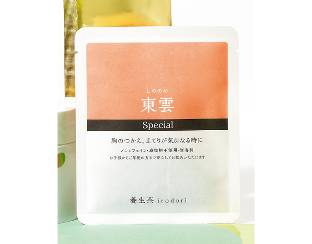亀田利三郎薬舗/養生茶irodori 東雲