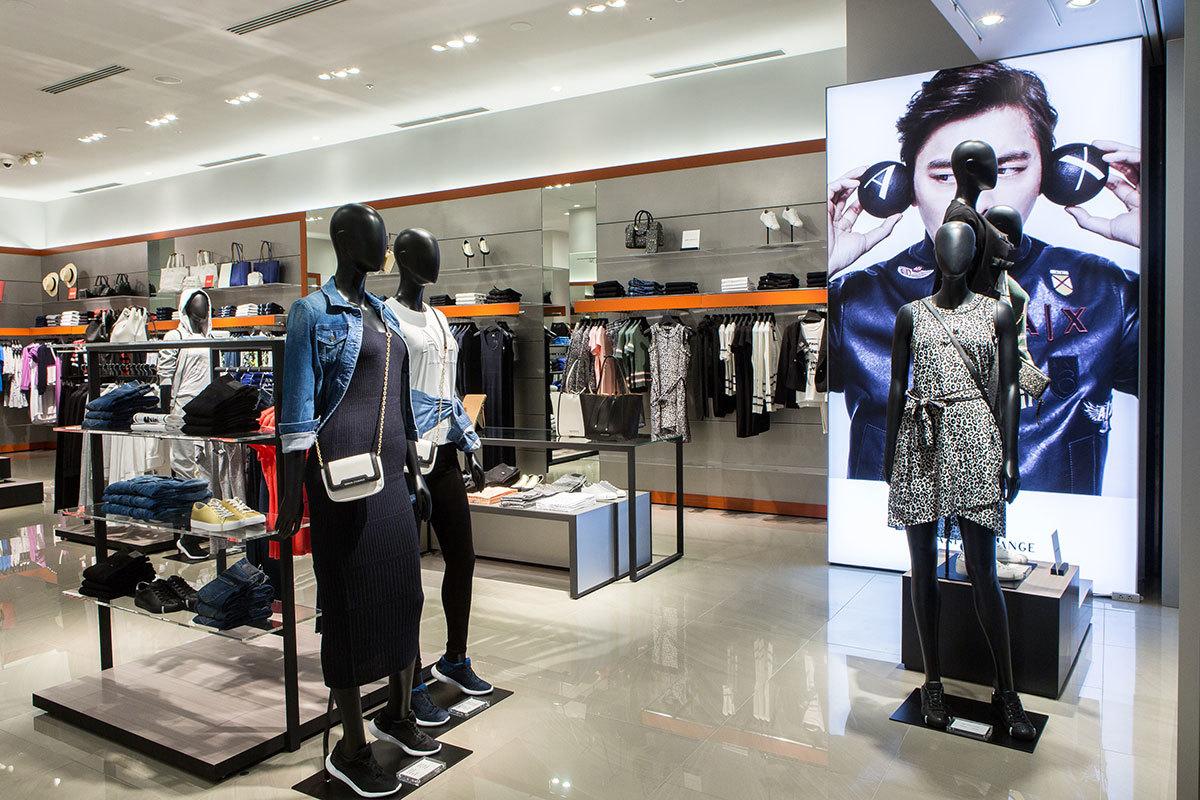 A|Xアルマーニ エクスチェンジ新店がダイバーシティ東京プラザにオープン_1_1