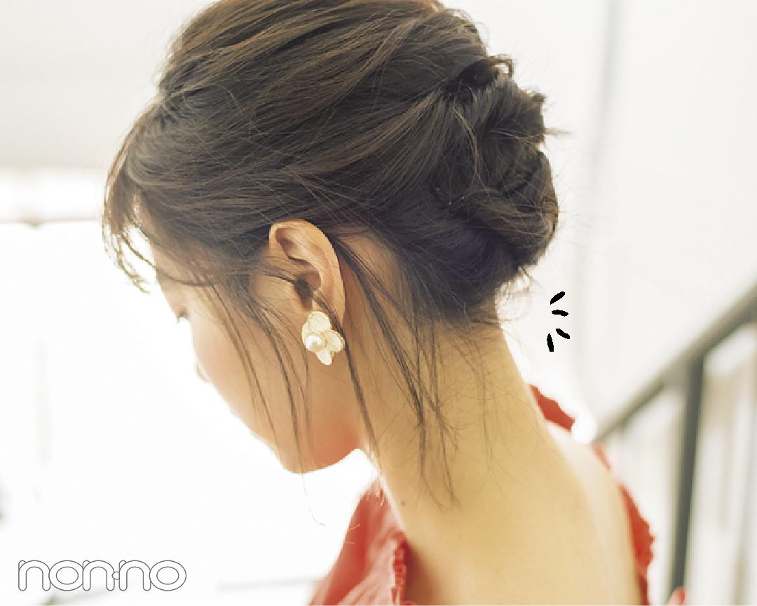 ボブのヘアアレンジ♡ 西野七瀬のうなじ見せまとめ髪で#彼女感!_1_4
