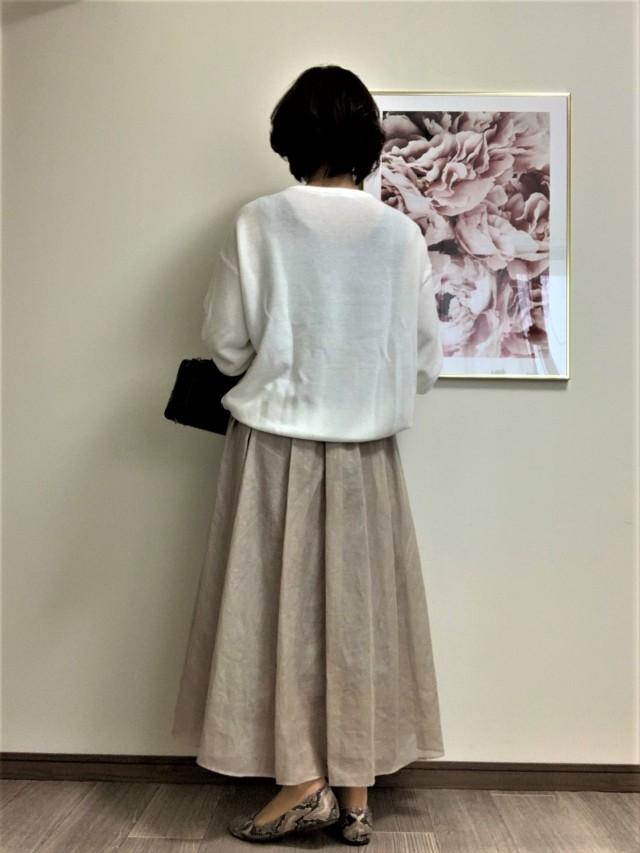 【Marisol別注】エディター三尋木奈保さん×martinique スカート_1_2-3