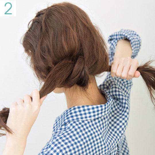 カジュアルシャツの日のヘアアレンジ♡透け前髪で今っぽ仕上げ_1_2-2