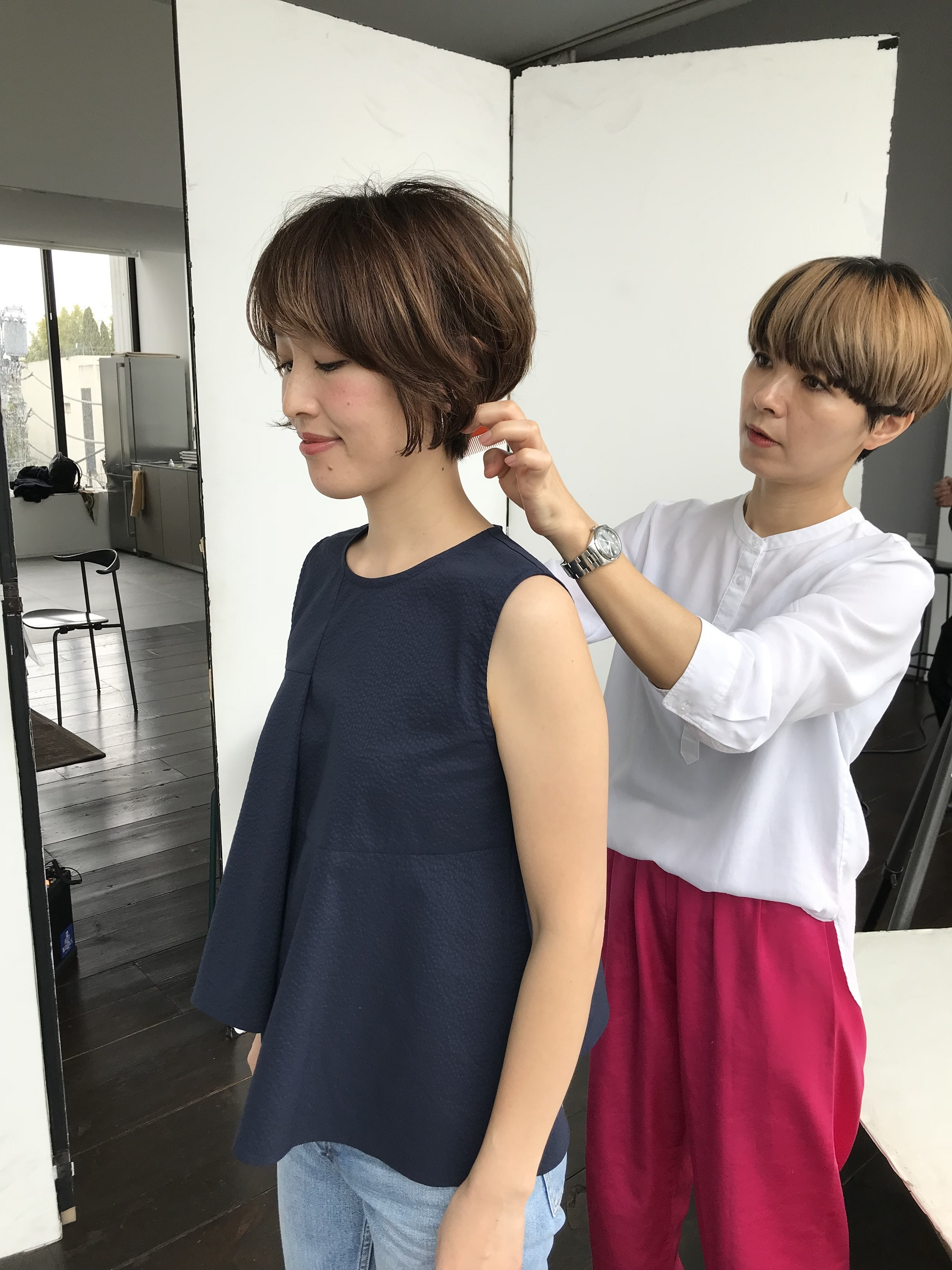 髪を切って女っぷりアップ!ショートヘアにチェンジしました♥_1_1-2