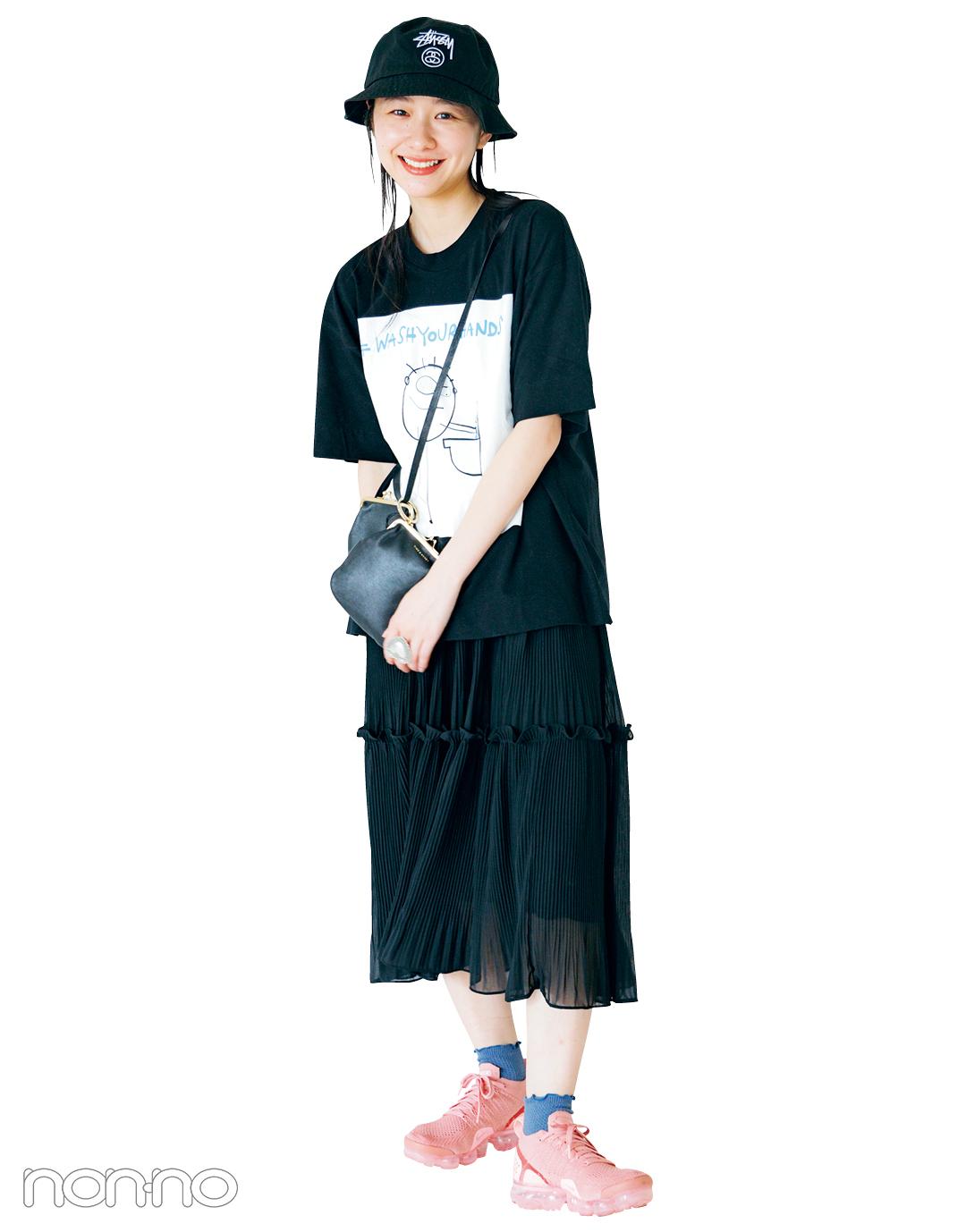 話題の#ほったさんの私服、見せて!vol.1 【ノンノモデルの夏私服:堀田真由】_1_5