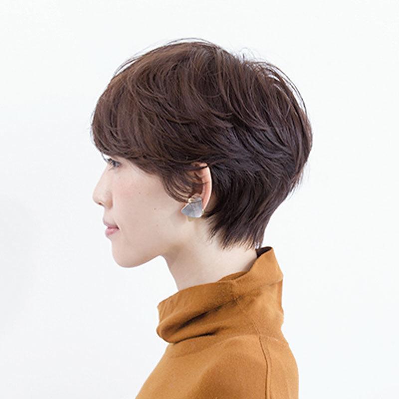 40代のショートヘアスタイル|2019年間人気ランキングTOP10_1_17
