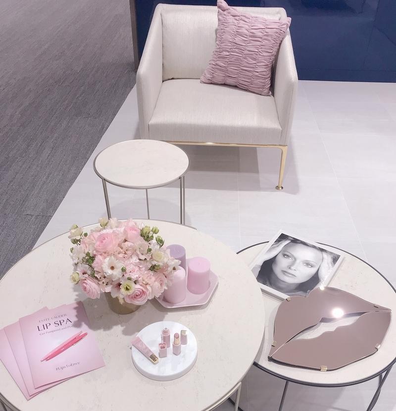 発表会のディスプレイも、優しいピンクで統一されていて素敵でした。