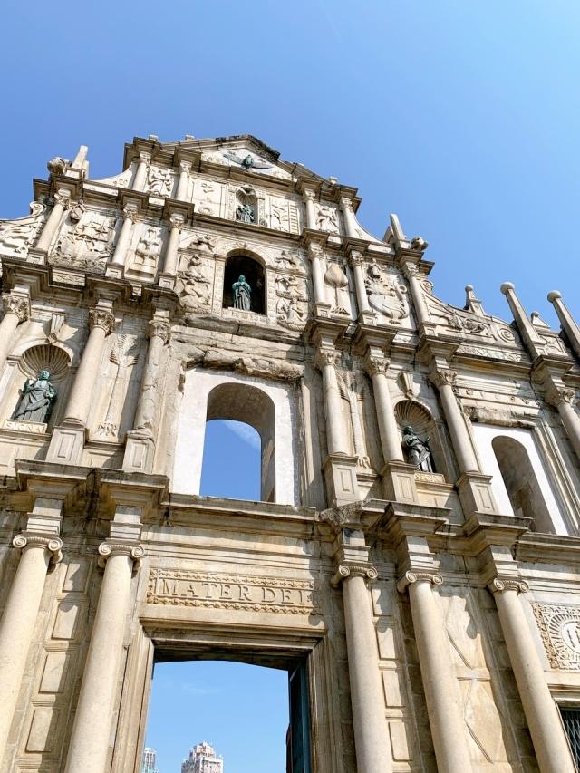 マカオ 聖ポール天主堂