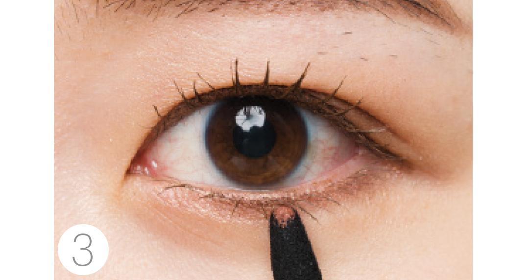 奥二重さんの小粒目を可愛く大きく見せるには?【目の形別最新アイメイク】_1_3-5