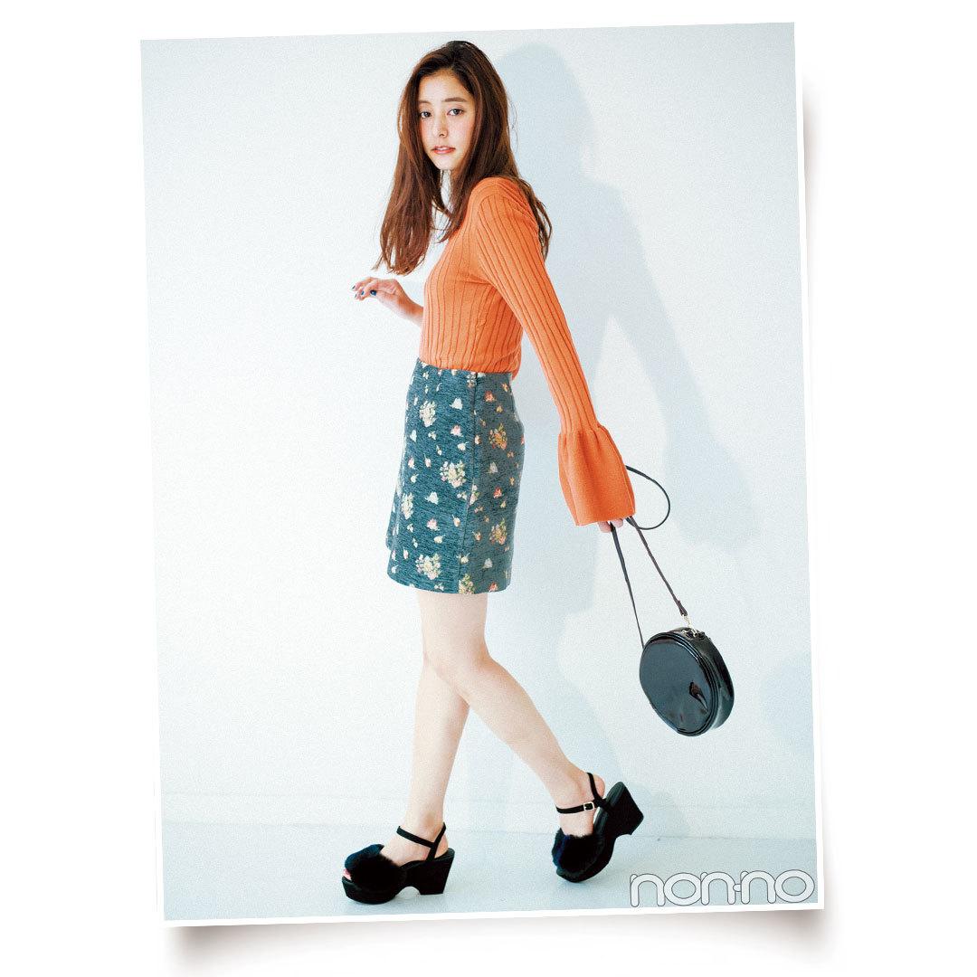 この秋マスト! 花柄スカート&ワンピコーデまとめ♡ _1_1-1