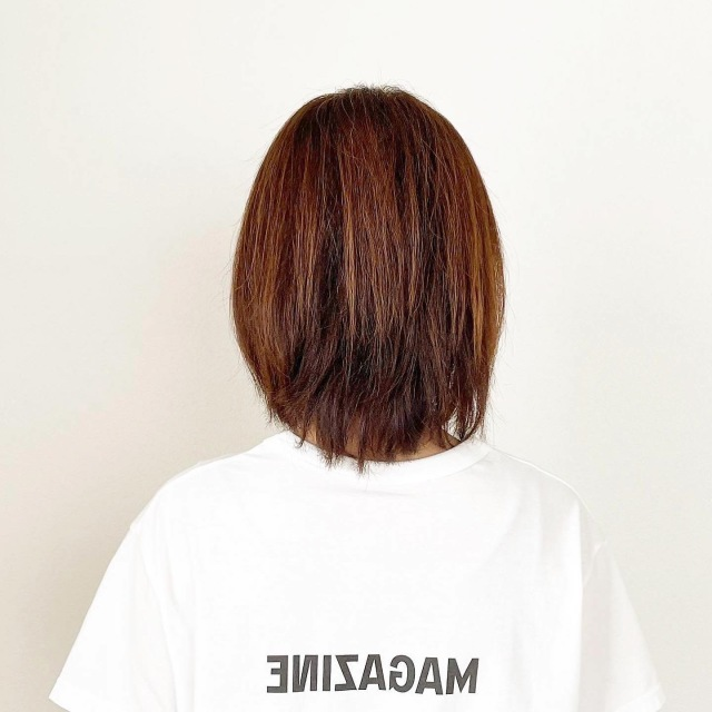 春夏最新!アラフォーくびれボブスタイル【tomomiyuヘア】_1_6