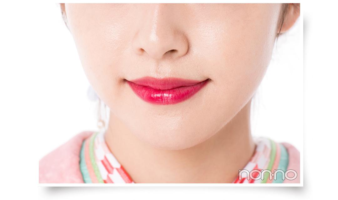 茶髪&明るめの髪色さん、ピンクの振袖なら低めヘアアレンジが似合う♡【成人式2020・髪型&メイク】_1_4