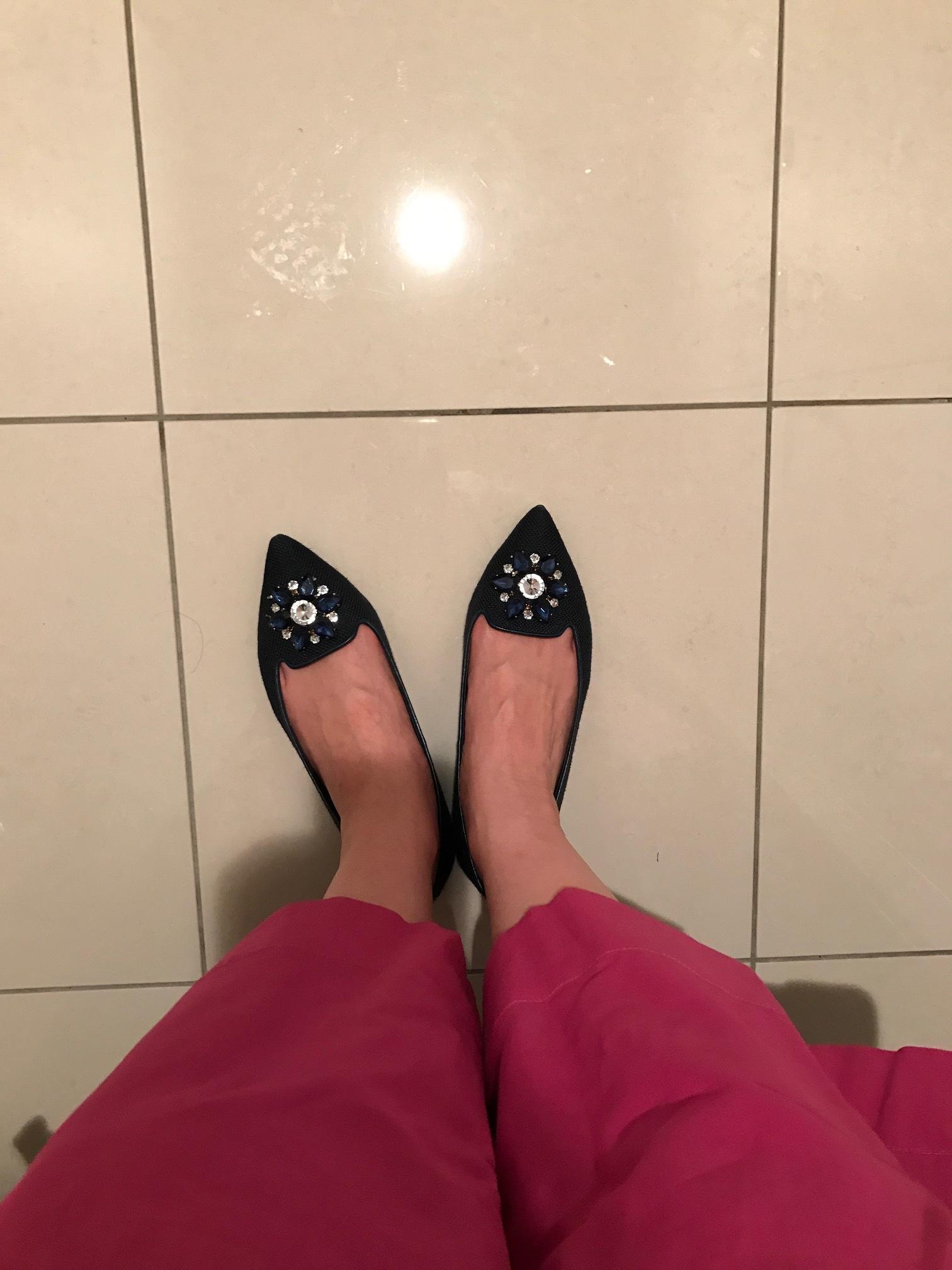 アラフォーの若々しさの秘訣は、フラット靴!!_1_5