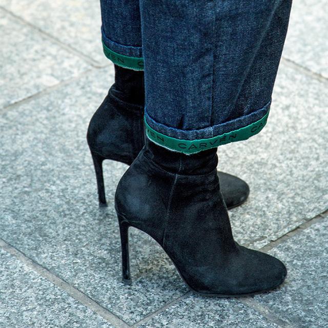 パリ&ミラノマダム 愛用のショートブーツ