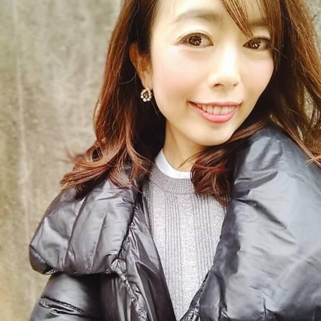 黒ダウンコートの中はグレーワントーンが、しっくりきます☆_1_2