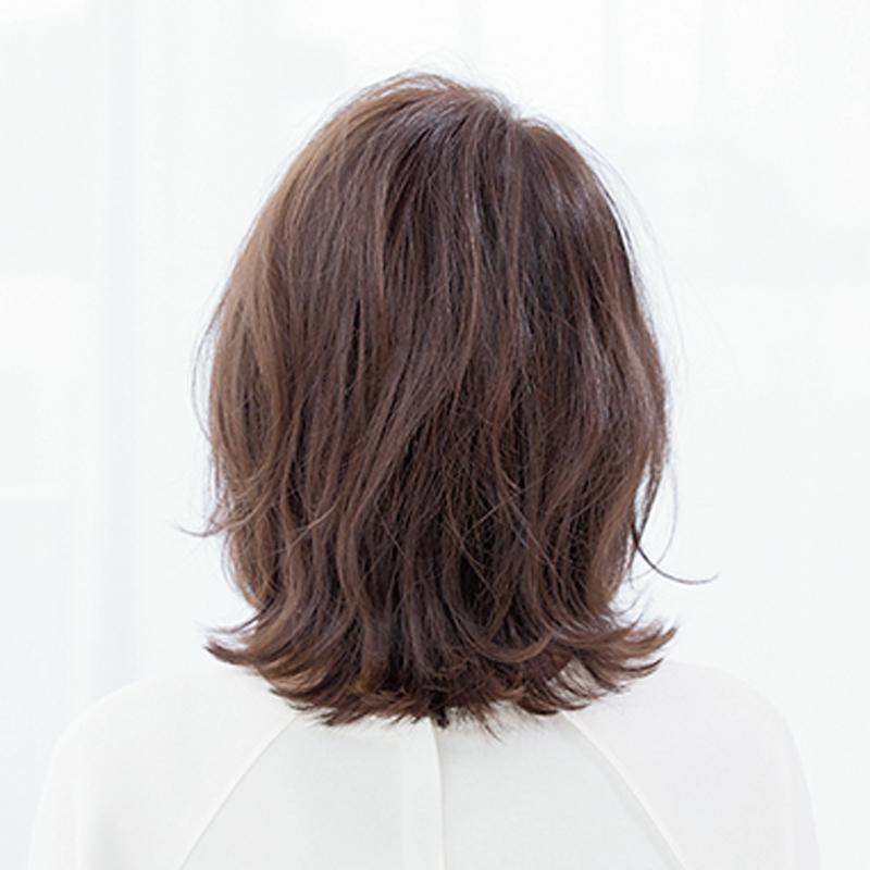 後ろから見た人気ランキング1位のヘアスタイル