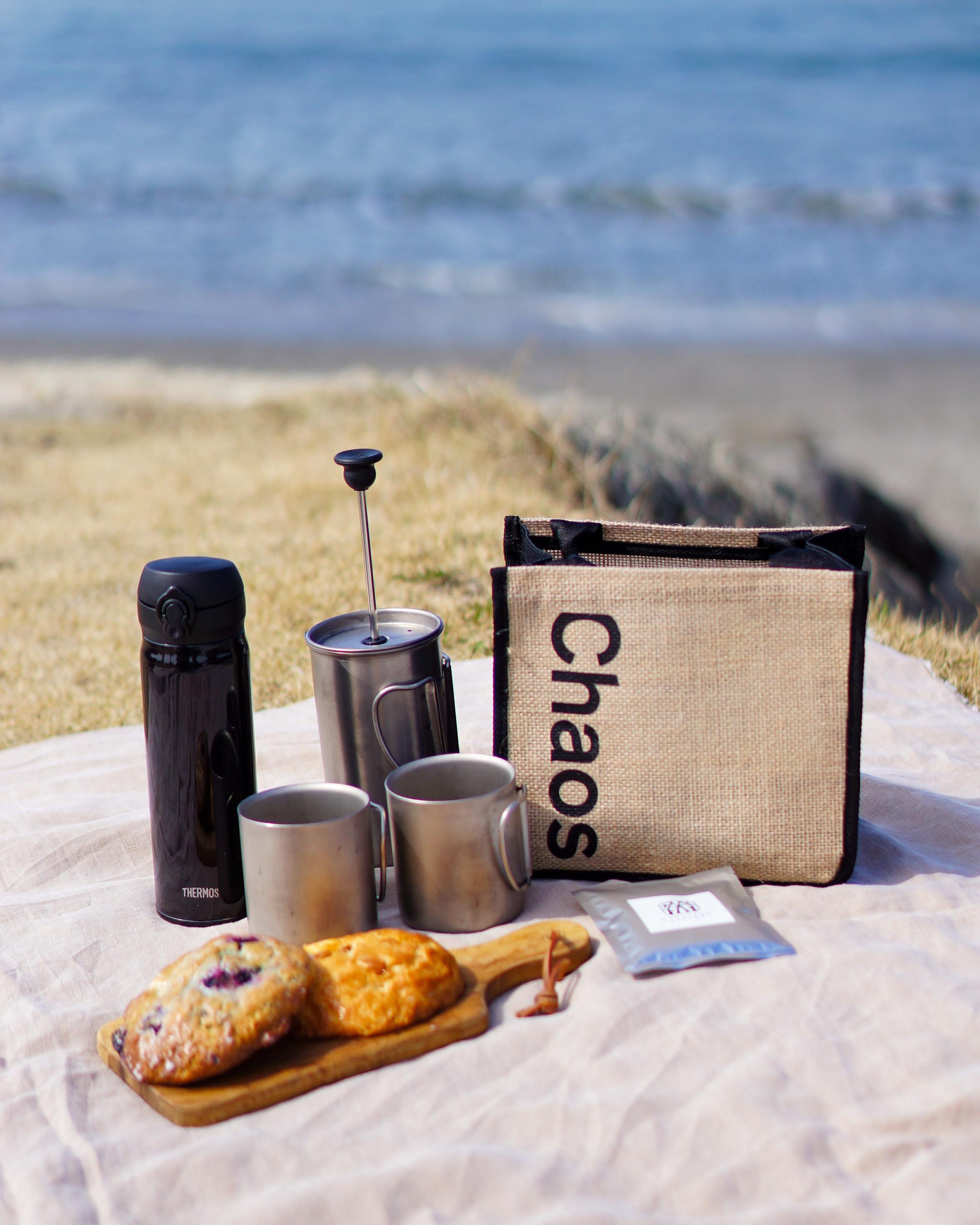 Chaos×eclatのバックで海辺のコーヒータイム♪_1_2