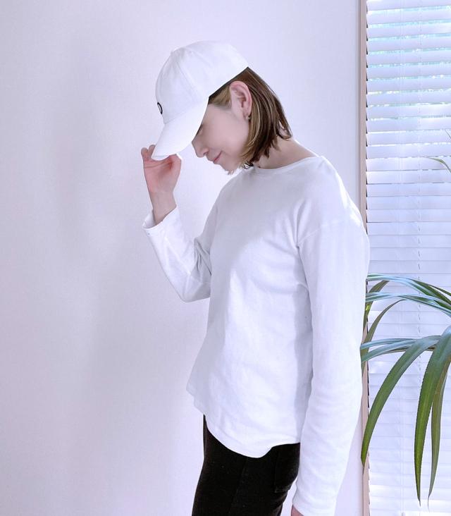 ビビビッっ!な白いキャップ_1_4