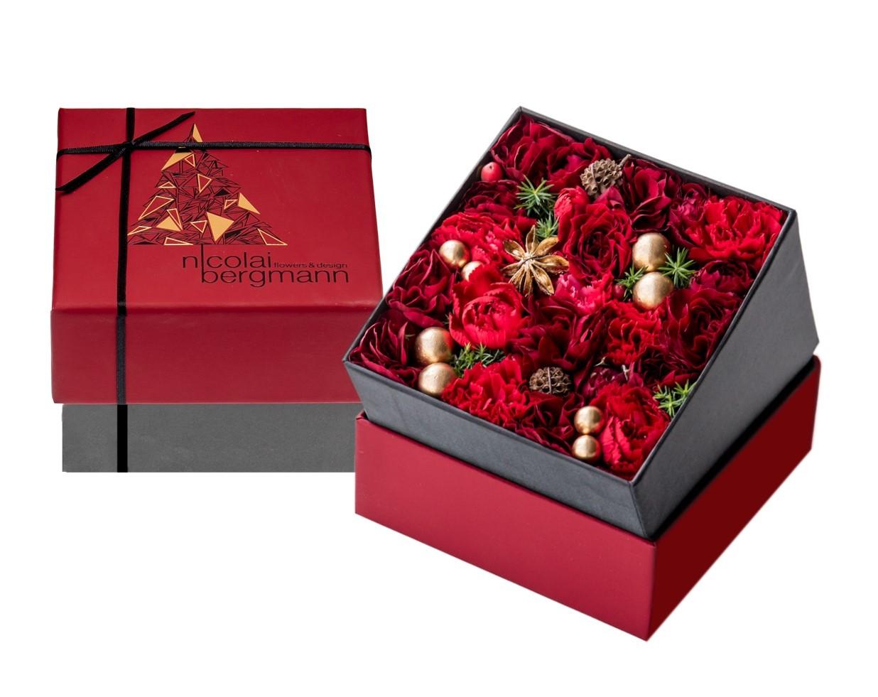 ニコライ バーグマンよりクリスマス限定フラワーボックスアレンジメントを発売_1_1