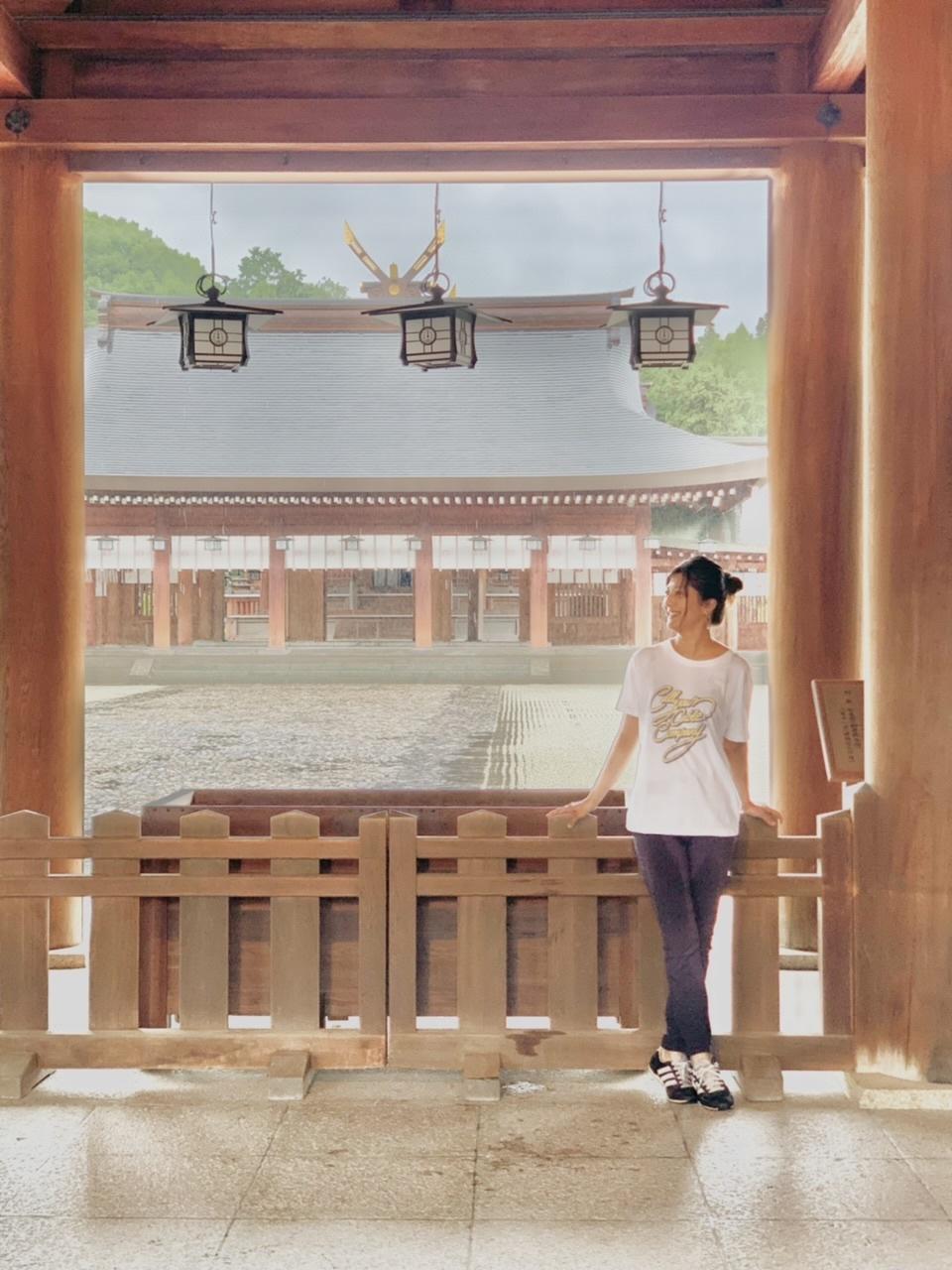 GU Tシャツで橿原神宮へ_1_1