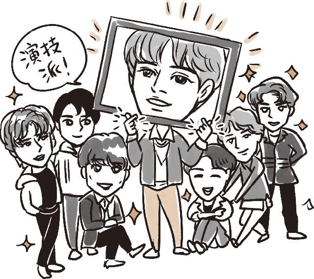 """K-POPグループの""""演技ドル"""""""