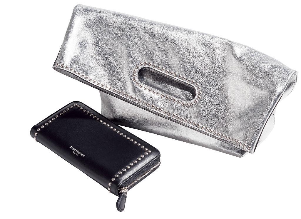 大人にぴったりの上品なスタッズ。J&Mデヴィッドソンのバッグと財布_1_1