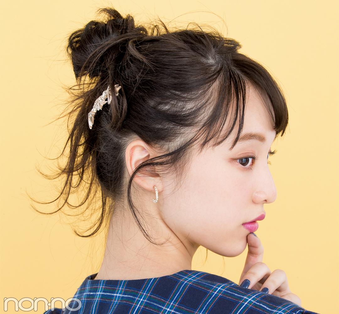 今っぽコームでヘアアレンジ♡ まとめ髪にプラスしてキュートに!_1_1