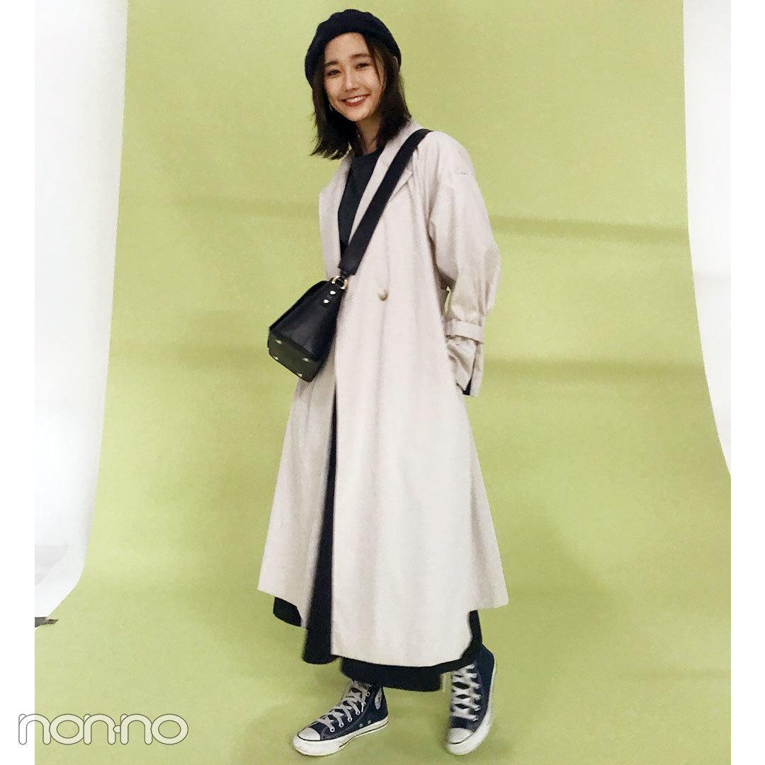 鈴木友菜はniko and...の無地Tに、KBFのスカート&コンバースで初夏コーデ!【モデルの私服スナップ】_1_2-4