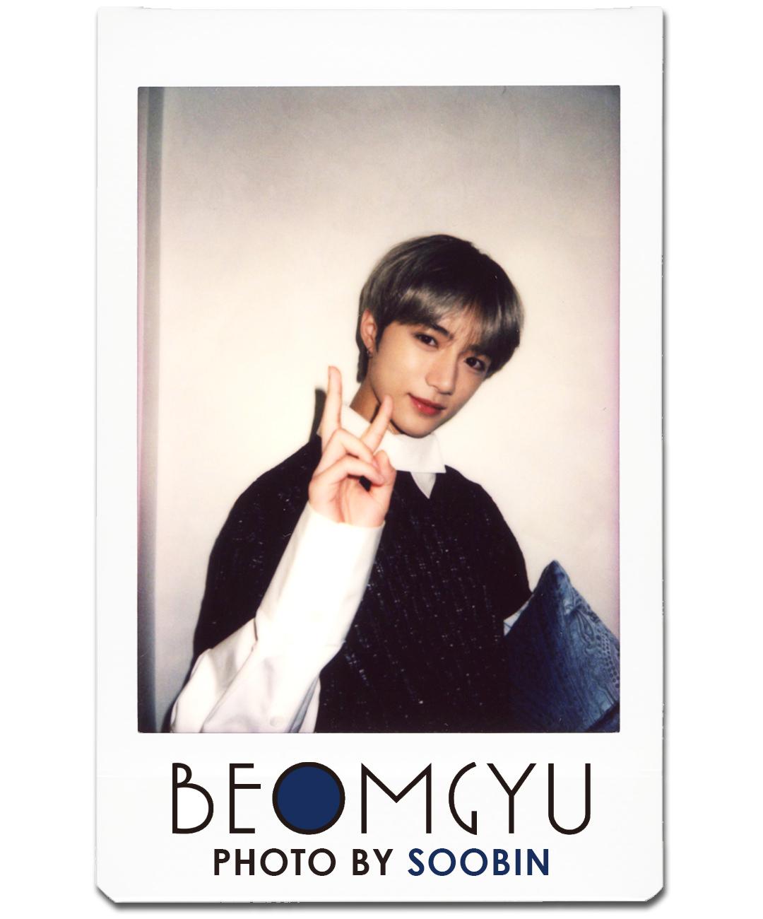 BEOMGYU PHOTO BY SOOBIN