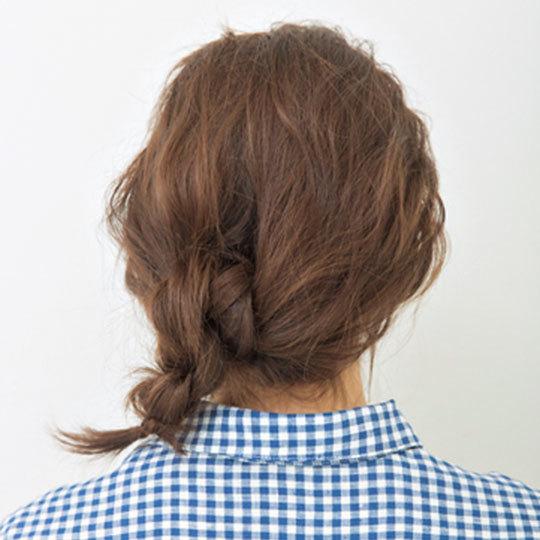 カジュアルシャツの日のヘアアレンジ♡透け前髪で今っぽ仕上げ_1_3-2