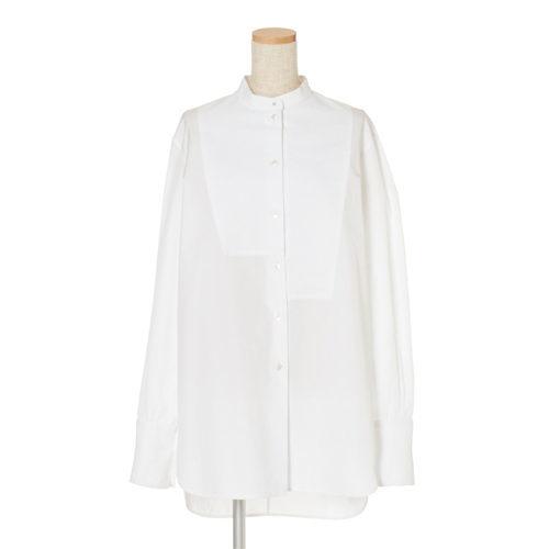 CINOH アシンメトリードレスシャツ