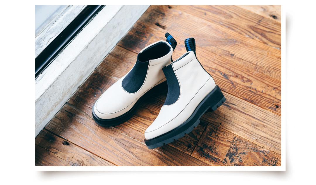 3.1 Phillip Limのショートブーツ