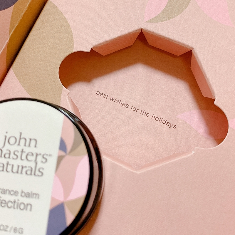 ジョンマスターオーガニックのホリデーコレクション2020は限定発売中!