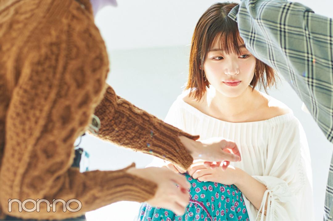 日向坂46佐々木美玲、ノンノ専属モデルになりました! 今の気持ち話します♡ _1_11