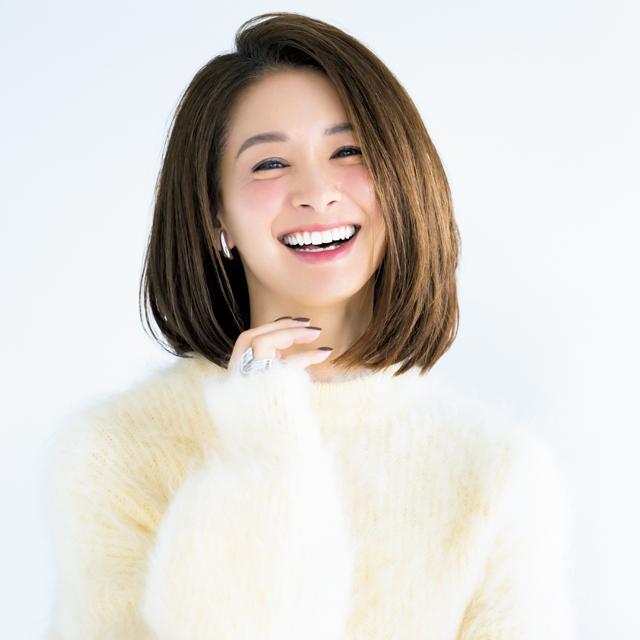 モデルの稲沢朋子