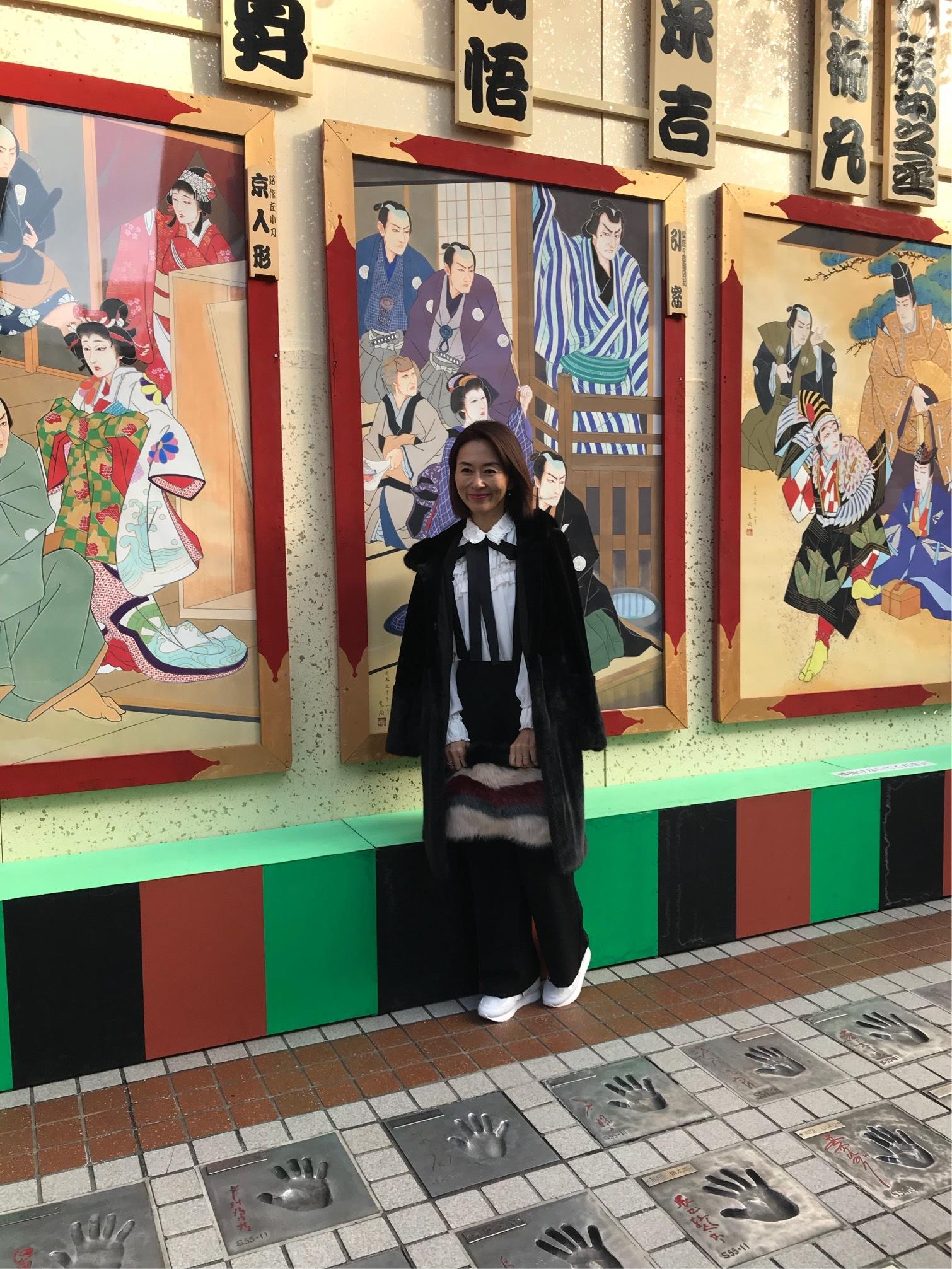 浅草歌舞伎と観劇ファッション☆_1_5