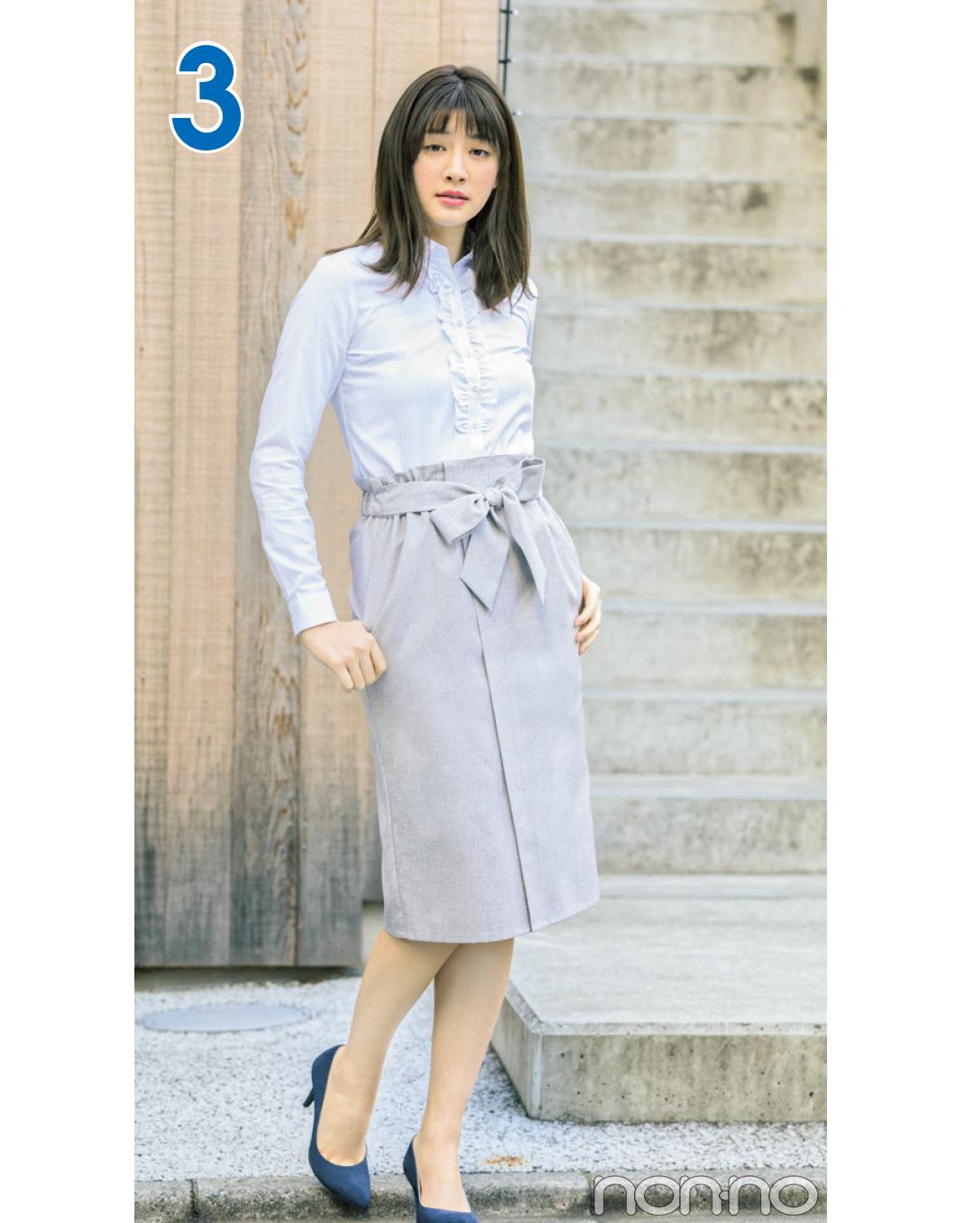 堅めオフィスできちんと見えスカート着回し☆毎日使えるタイトスカート4選!_1_3-2