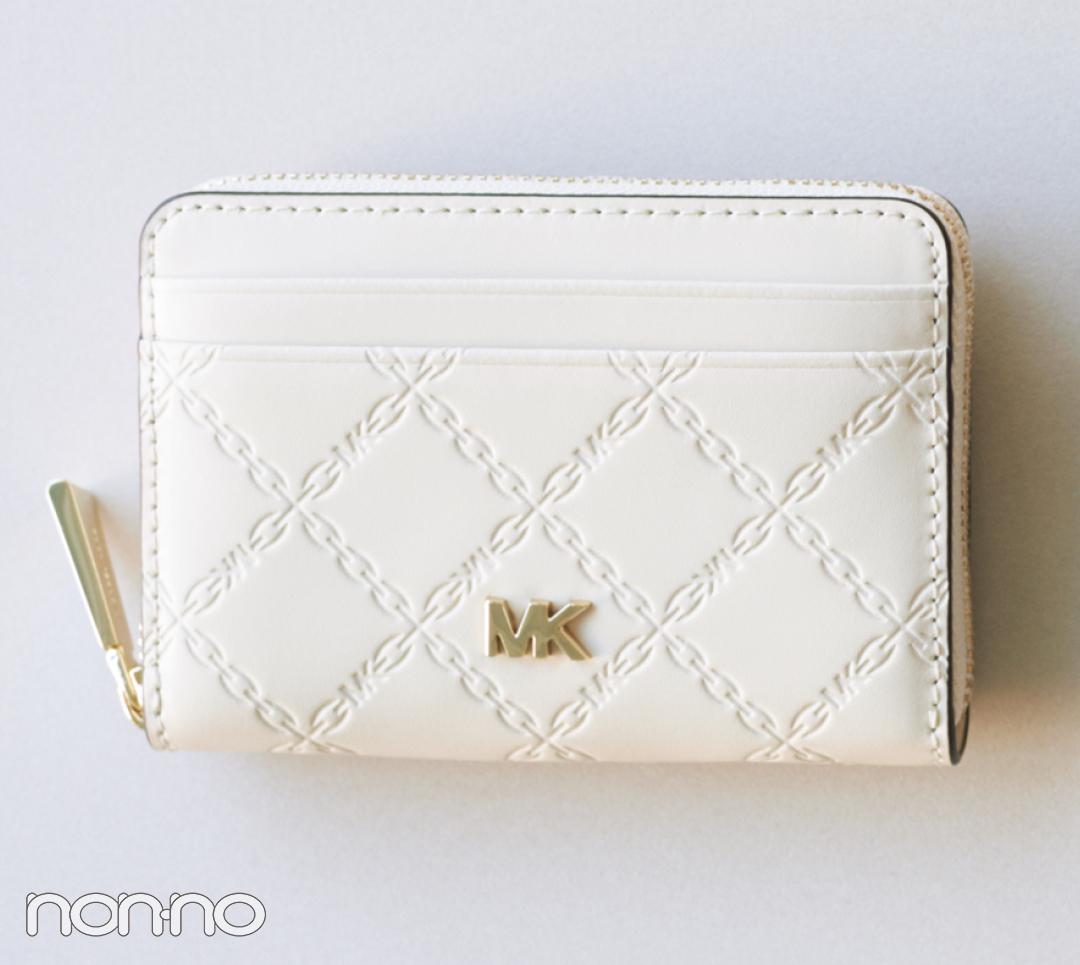 バッグの中身を新しく。マイケル マイケル・コースのミニ財布が上品知的!【20歳からの名品】_1_3-3