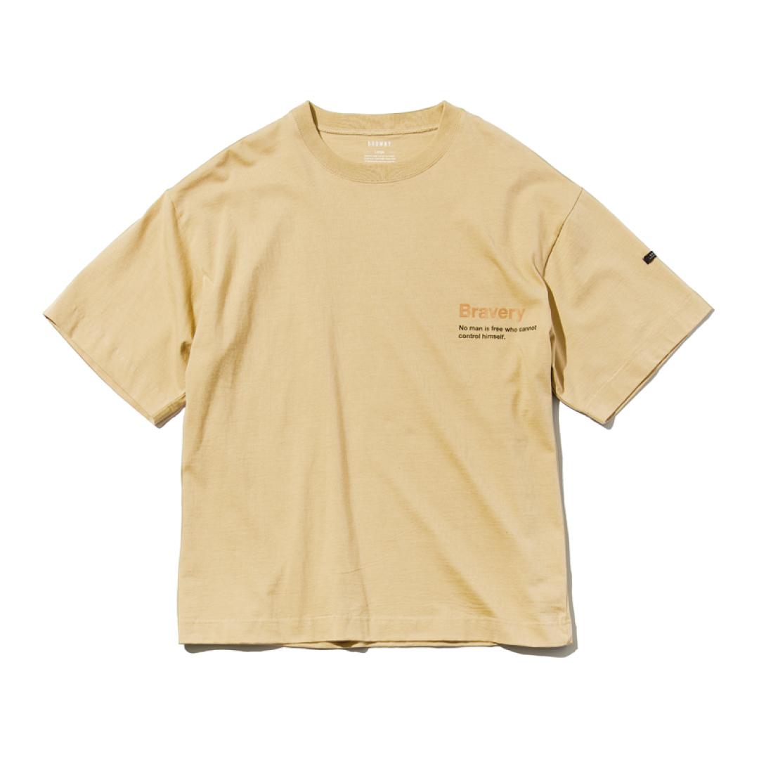 「着られちゃってる感」が逆に可愛い! メンズの大きめロゴTシャツを1枚★【男子服vol.1】_1_3-3