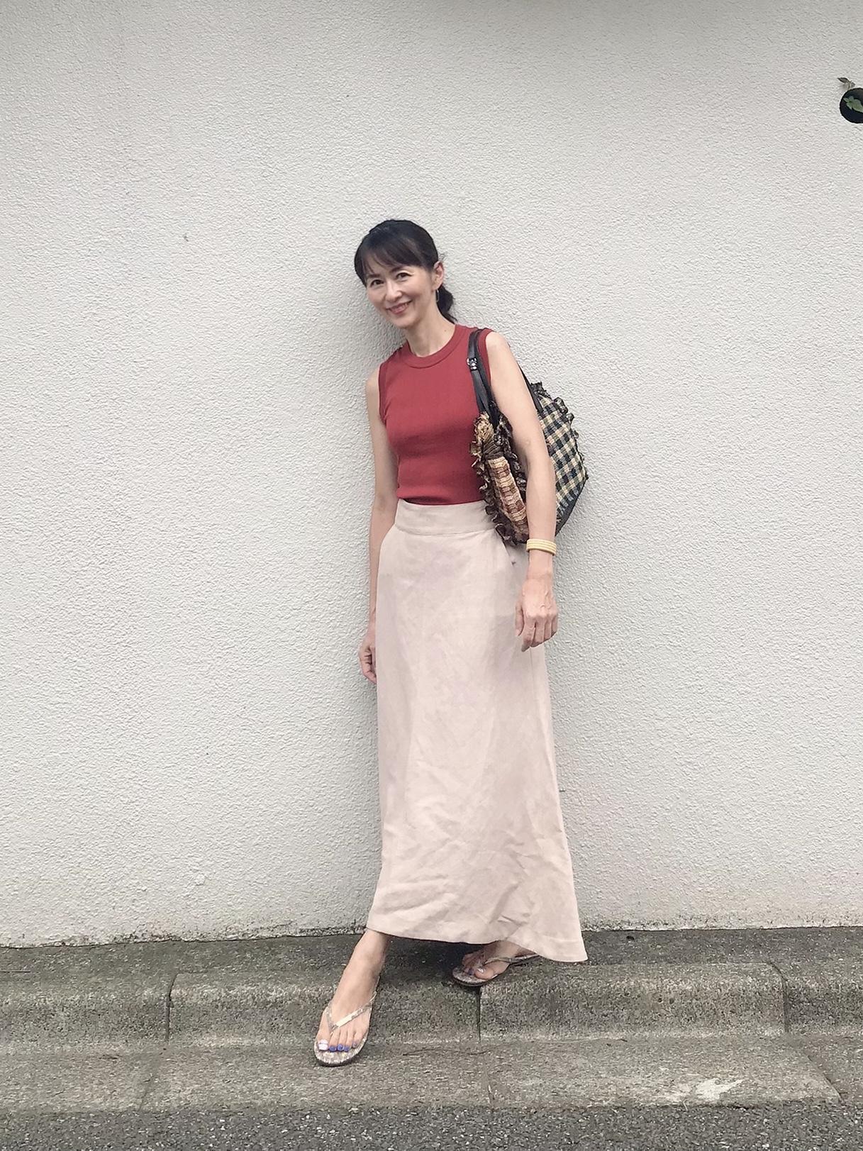 ヴィムガゼットのリネンフレアスカート♡_1_1