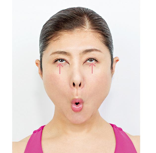 まぶたのたるみ、クマ、腫れまぶたetc. 顔ヨガで目もとの悩みをなくす!_1_2-3
