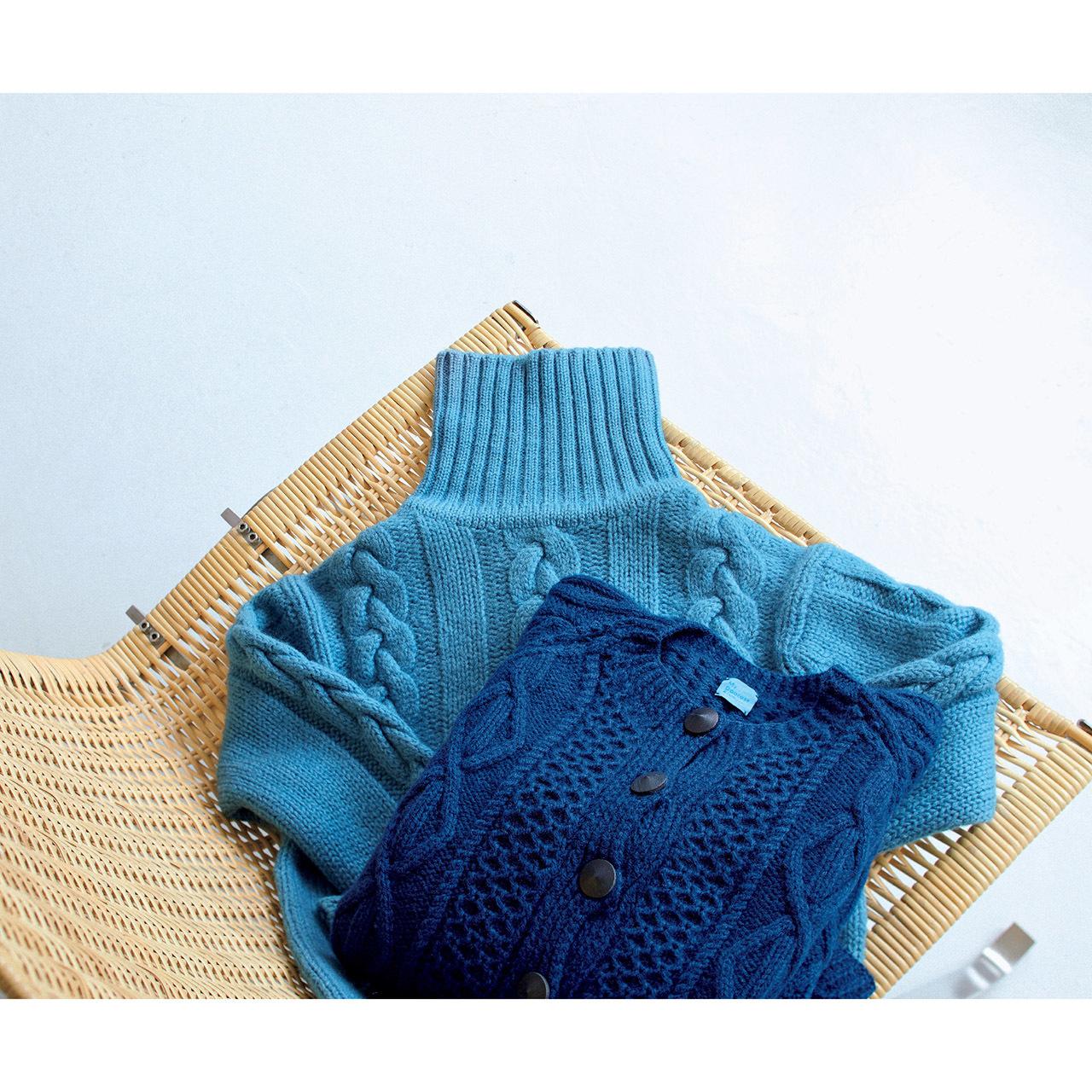 MADE IN JAPANの隠れた名品「LITMUSの藍染めニット」_1_1