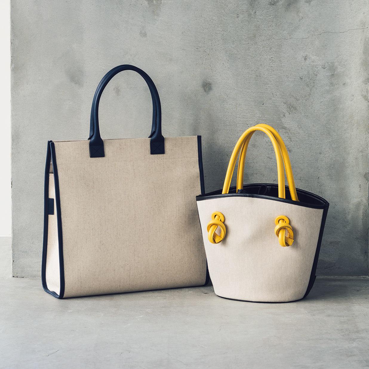 ヴァジックとリュニフォームの通勤バッグ