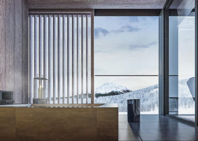 お風呂から眺められる風景