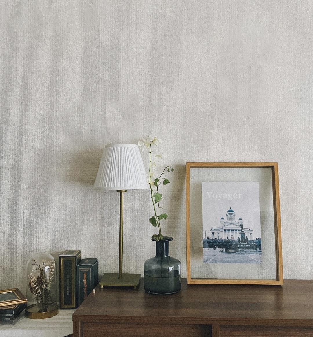 【Standard Products(スタンダードプロダクツ)】木製フォトフレームに、写真やアート、ポスターを飾って