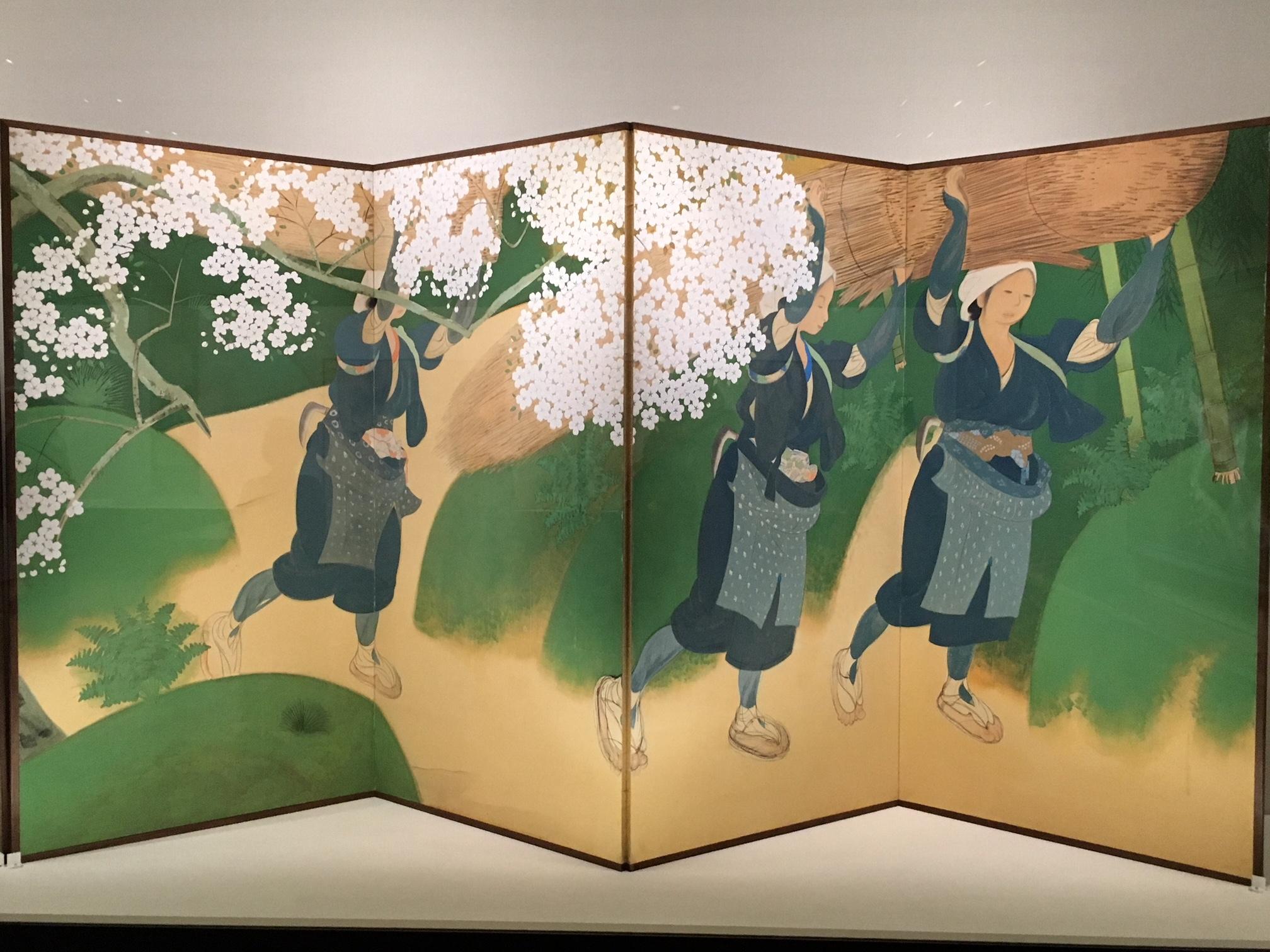 東京都内はすでに葉桜状態ですが・・・。 美術鑑賞とお花見セット_1_2-2