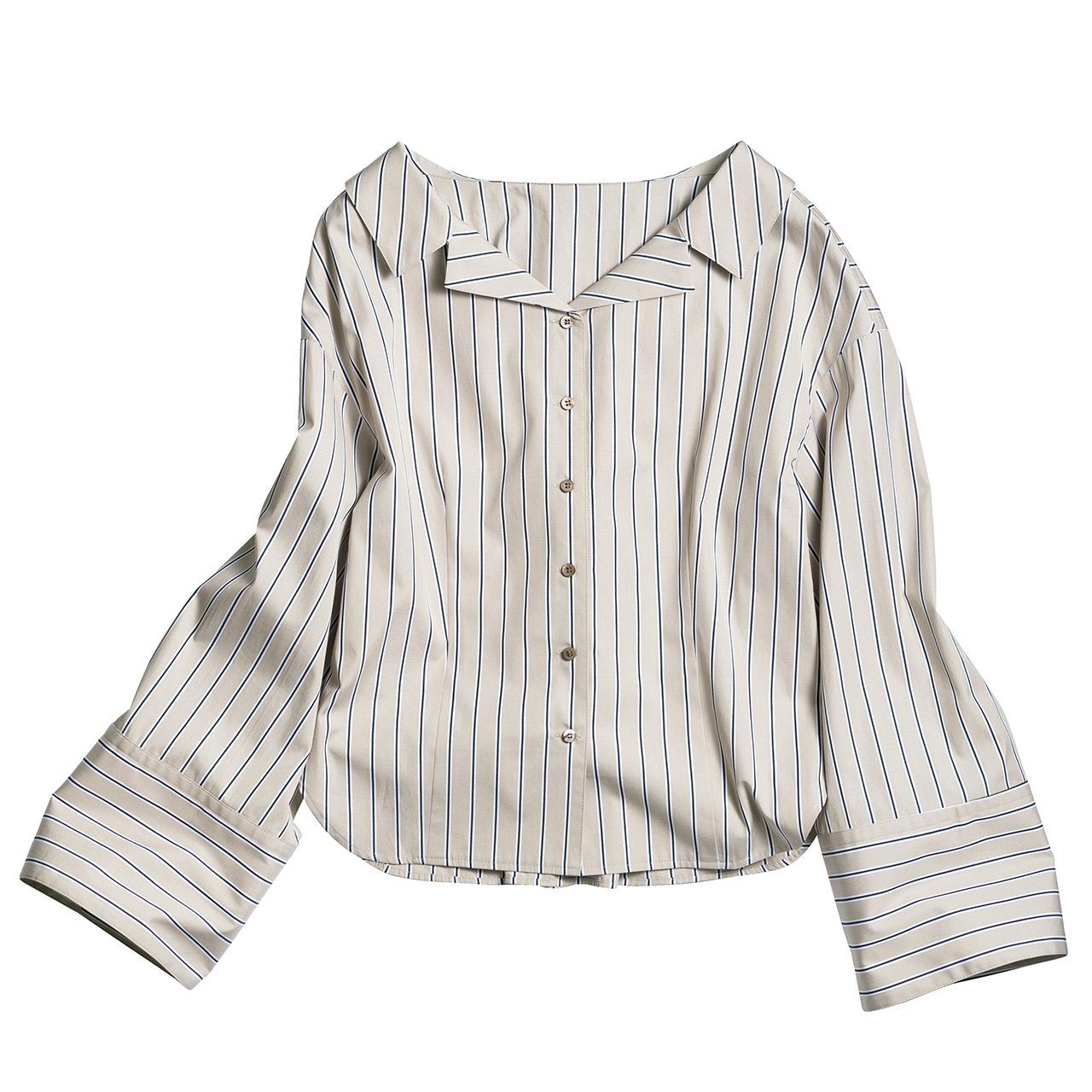 きりっと主張するストライプが、シャツを洗練スタイルに格上げ 五選_1_1-2