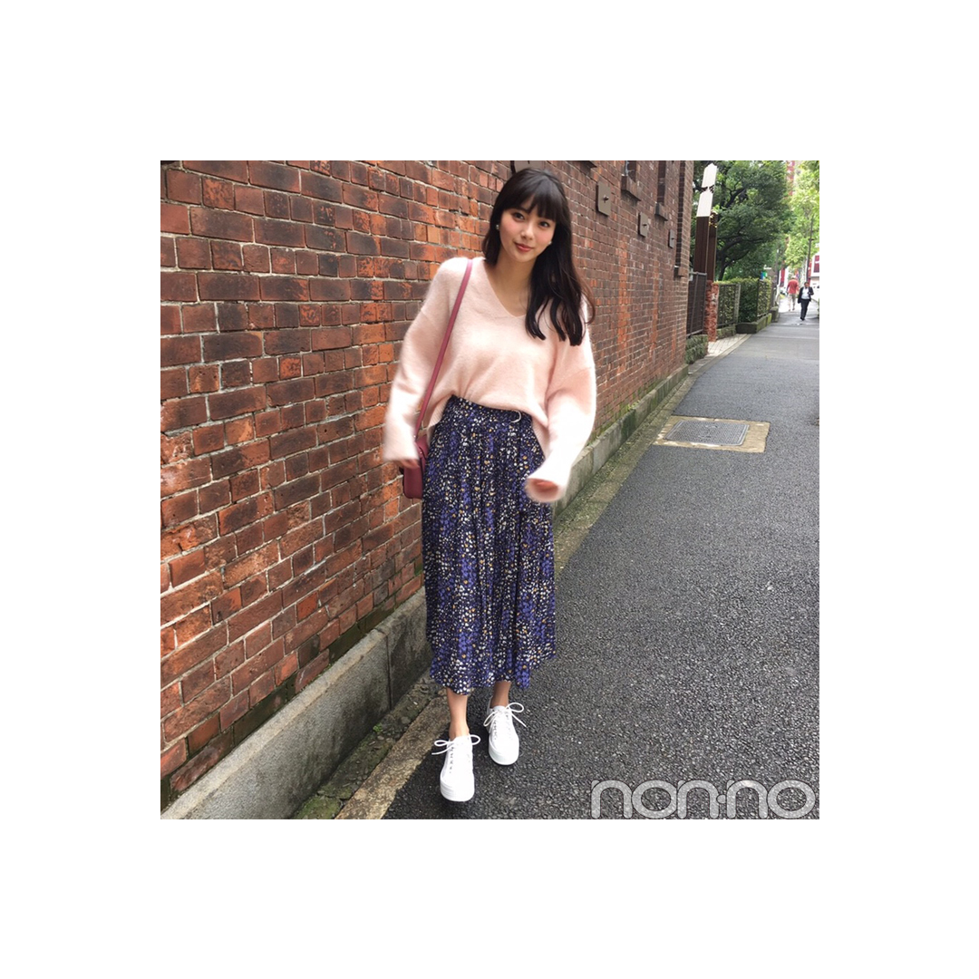 新川優愛のスニーカーでモテ♡コーデがすごい!【毎日コーデ】_1_1