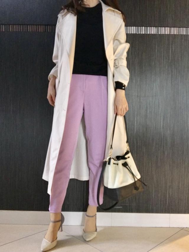 スカートより女っぽい♡美女見えカラーパンツで旬コーデが完成_1_6