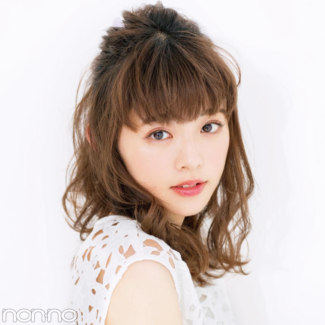 「前髪」と「触角まわり」だけで小顔ヘアアレンジまとめ♡ _1_5-1